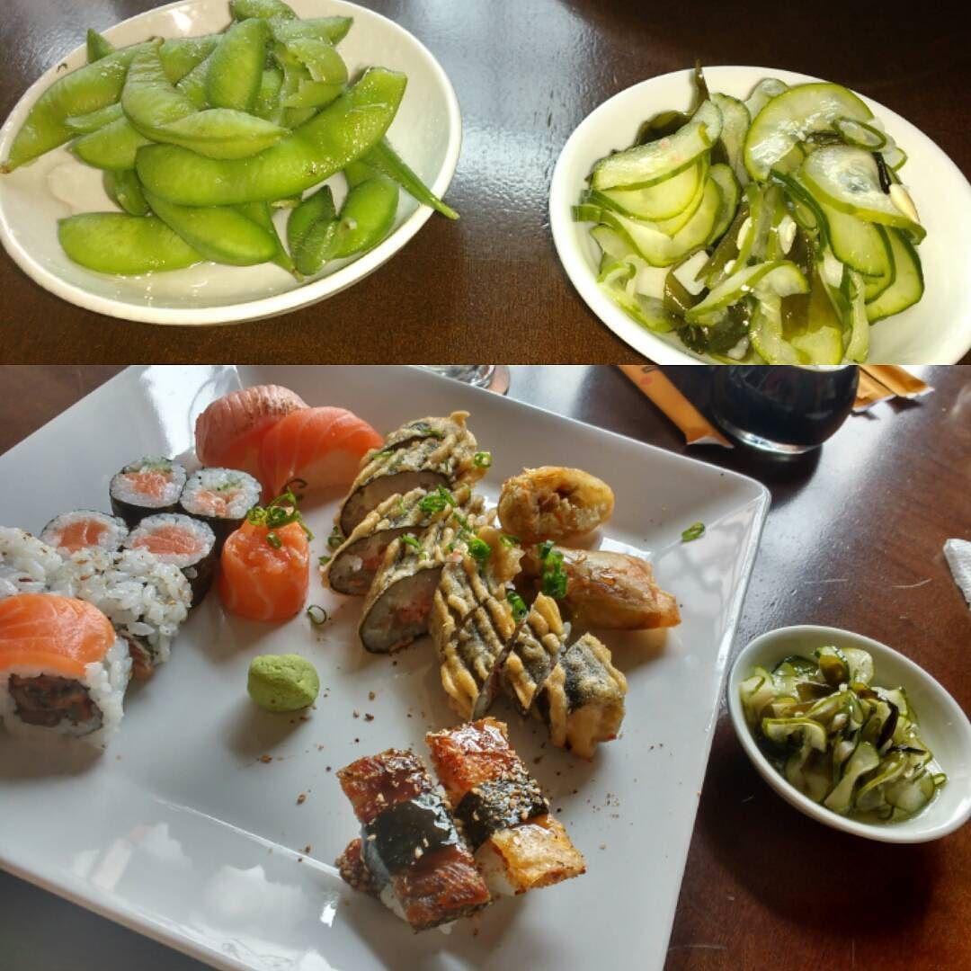 Almoço improvisado  #sushi #instafood #pornfood #amopoa