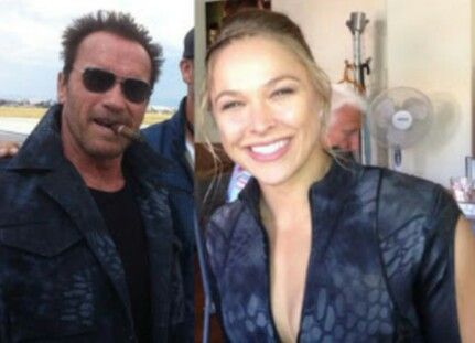 Ronda & Arnold Expendables 3
