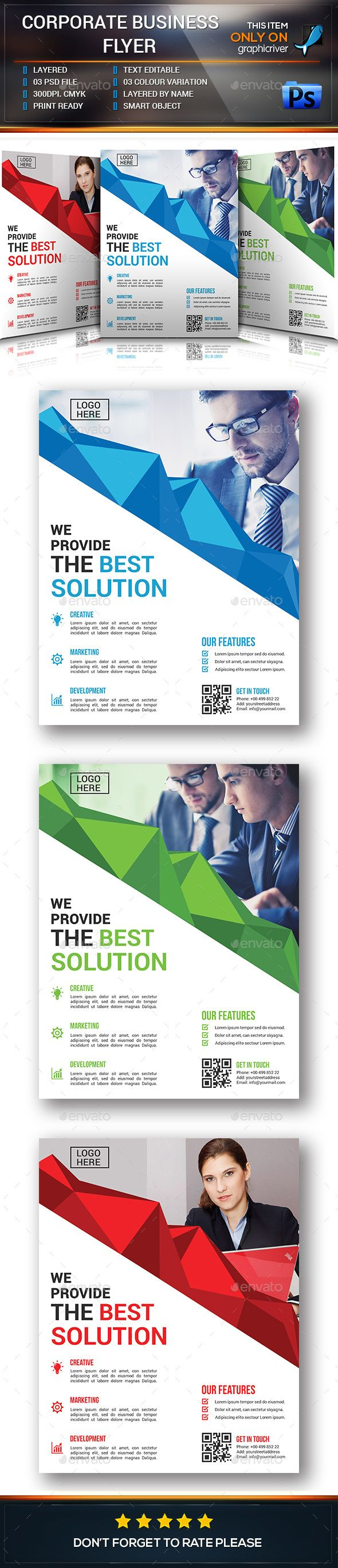 Corporate business flyer business flyers corporate business and corporate business flyer template psd download here httpgraphicriver flashek Images