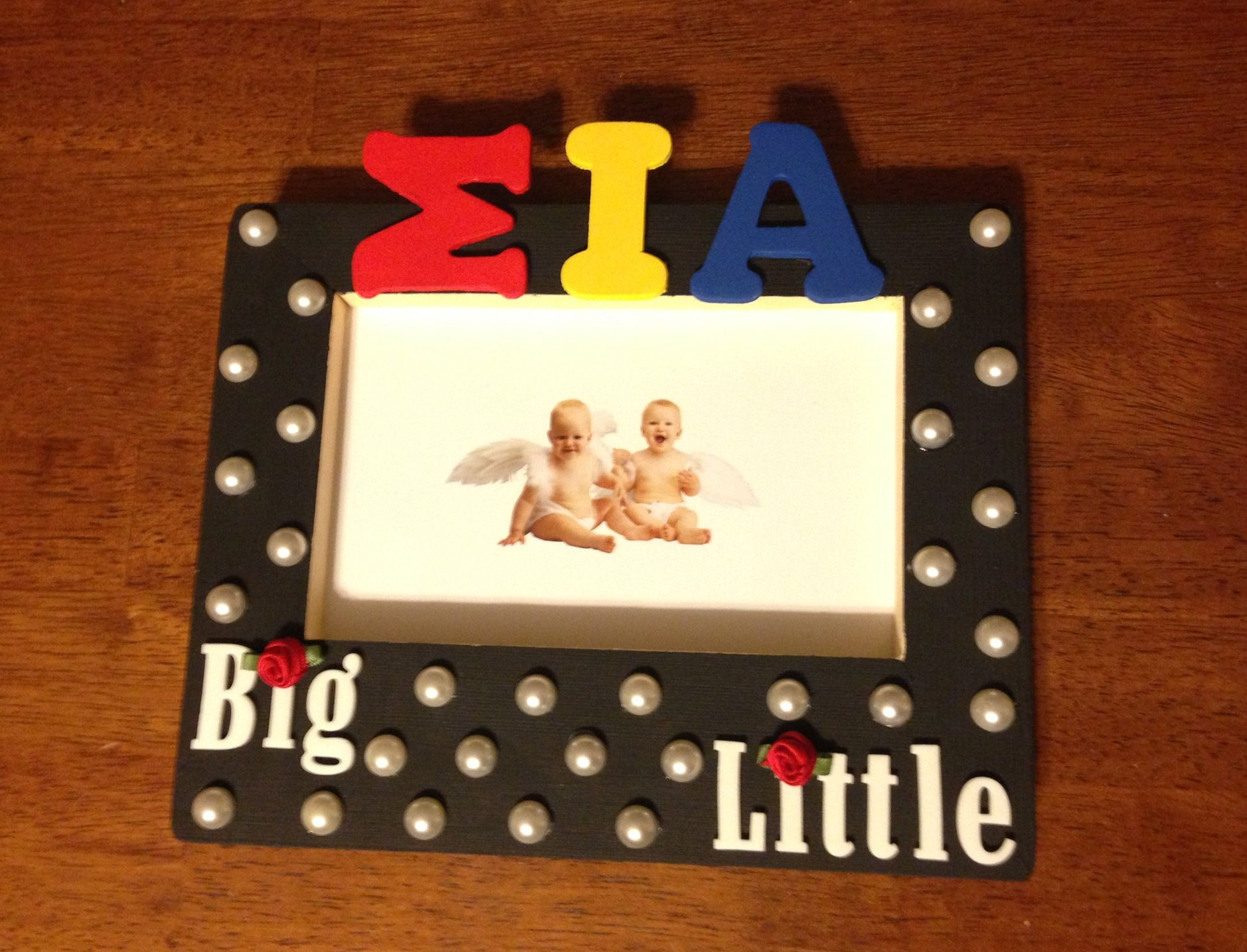 Sia big little picture frame greek pinterest sorority sia big little picture frame jeuxipadfo Images