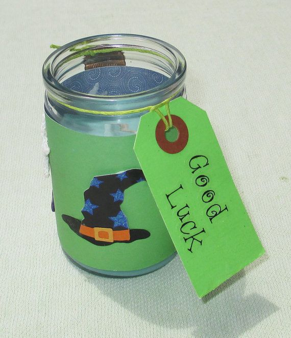 Good Luck Ritual Spell Pillar Candle Bring Into Your Life Wiccan Pagan