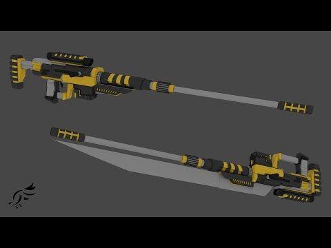 Crimson Twilight' - RWBY OC Weapon (Commission) - YouTube