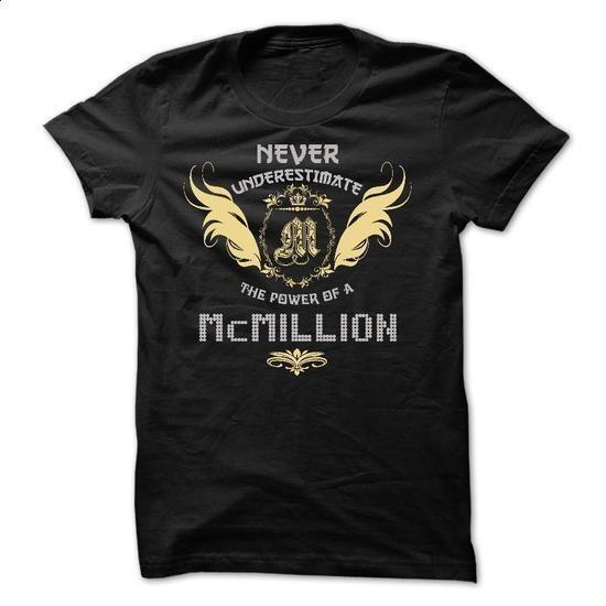 McMILLION Tee - #shirt #couple shirt. SIMILAR ITEMS => https://www.sunfrog.com/Funny/McMILLION-Tee.html?68278