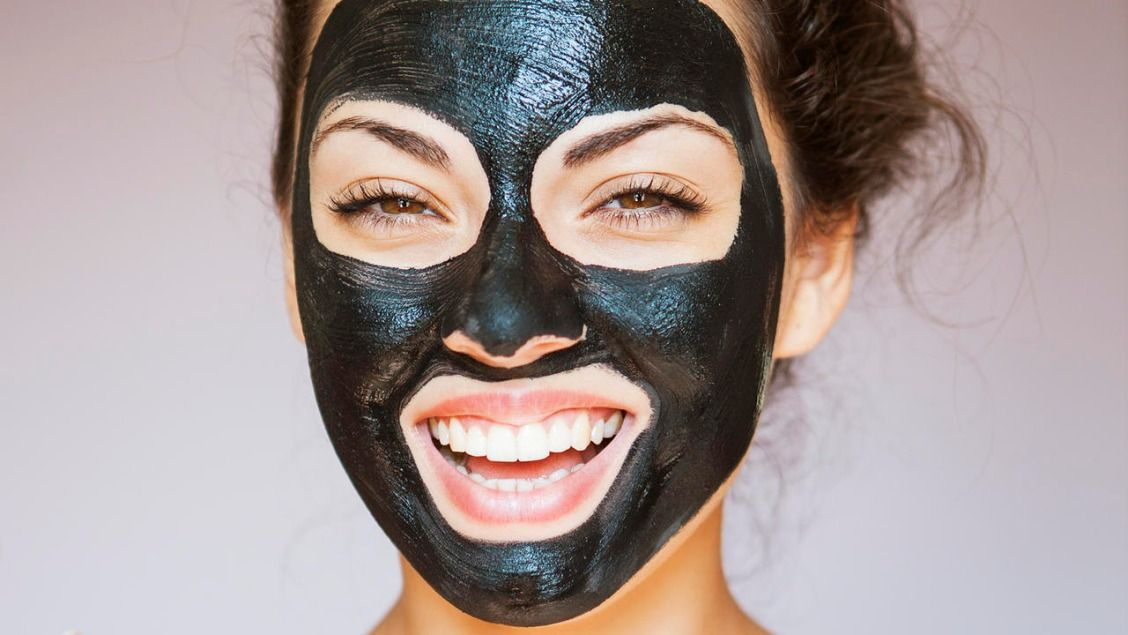 The Is Obsessed With This Intense Charcoal Face