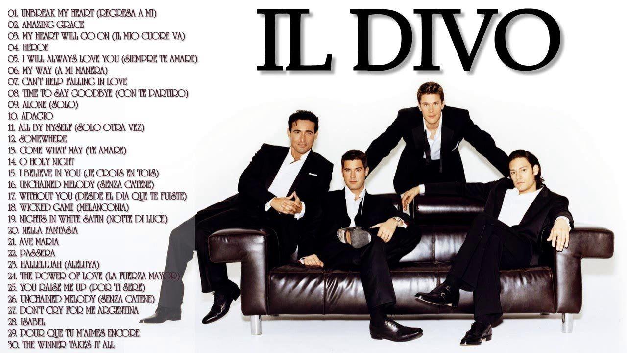 Best of il divo las mejores canciones de il divo top 30 best songs best of il divo pinterest - El divo songs ...