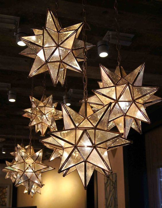 Moravian Star Pendants are here for the beautification of your space! Find  yours on our website today! - Love These!!! Moravian Star Pendants Are Here For The Beautification
