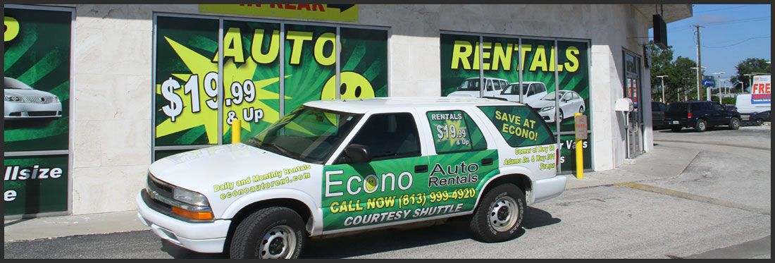 Econo Car Special Offers. Monthly Special mention coupon