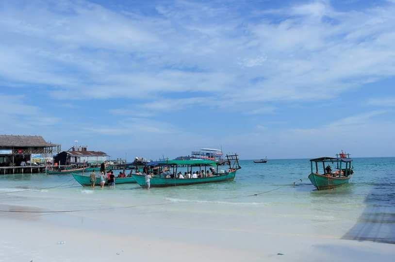 Beautiful beach at Sihanouk ville. #cambodia #travel #beach