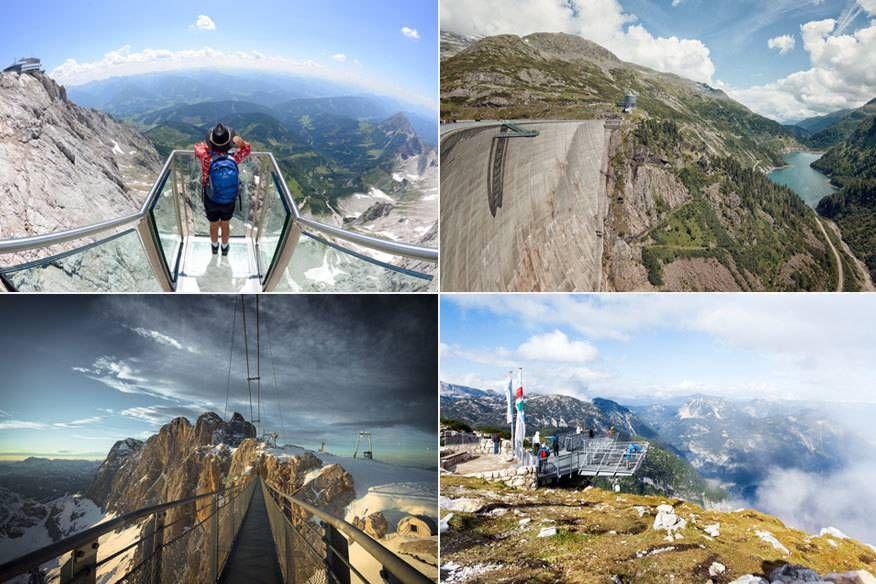 10 spektakuläre Skywalks in den Alpen – TRAVELBOOK