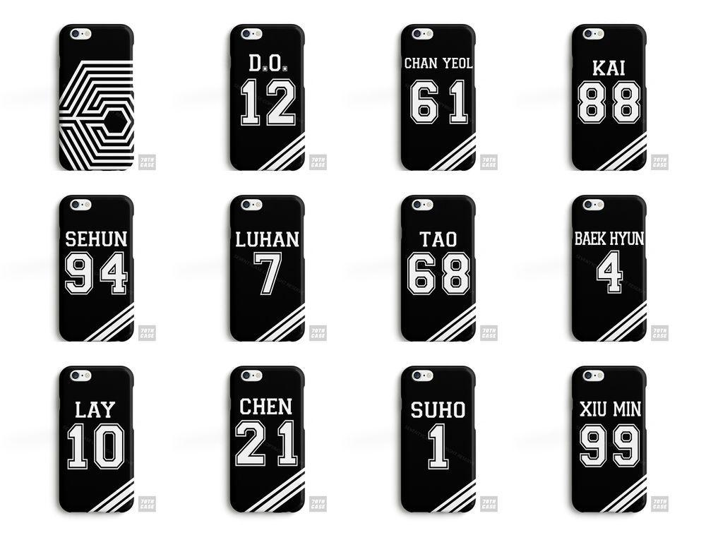coque iphone 6 exo kpop