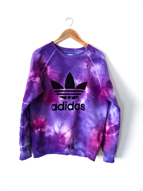 fbf42bbaa2 Adidas tie dye sweatshirt