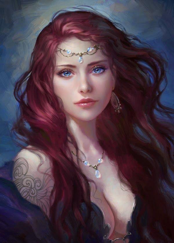 Dessin fille fantasy amoureuse [PUNIQRANDLINE-(au-dating-names.txt) 69