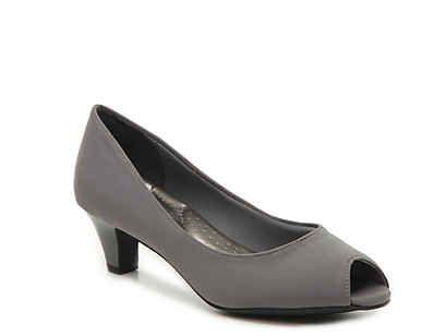 """Women's Low Heel 1""""2"""" Comfort & Memory Foam Dress Pumps"""