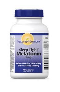 Nature's Harmony Melatonin - 3 mg $9.29 - from Well.ca