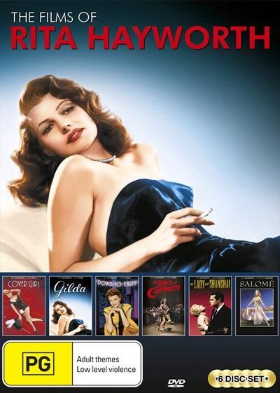 Films Of Rita Hayworth | Collection, The Classic, DVD | Sanity