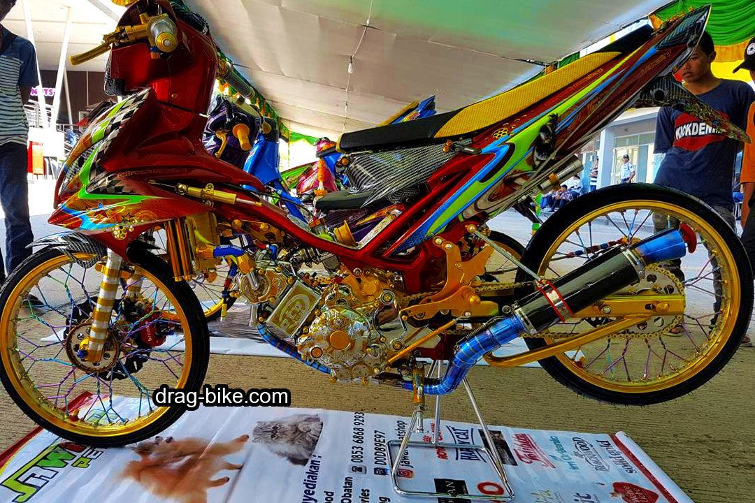 40 Foto Gambar Modifikasi Jupiter Mx King Jari Jari Ceper Drag Road Race Drag Bike Com Gambar Mobil Mewah Motor