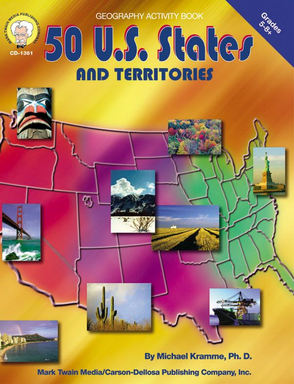 50 us states and territories activity book includes basic 50 us states and territories activity book includes basic statistics for each state and territory flag illustrations review questions map exercises gumiabroncs Gallery