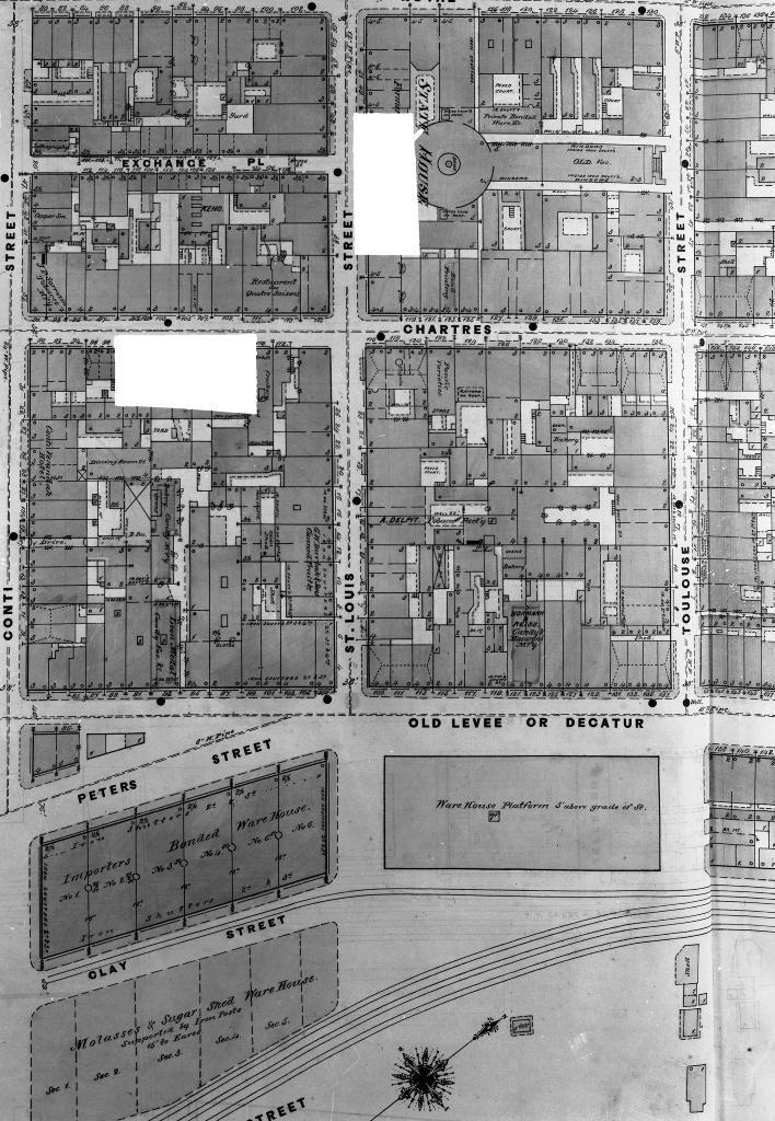 Title: Sanborn\'s Insurance Maps Date: April 1876 Image I.D. No. N ...