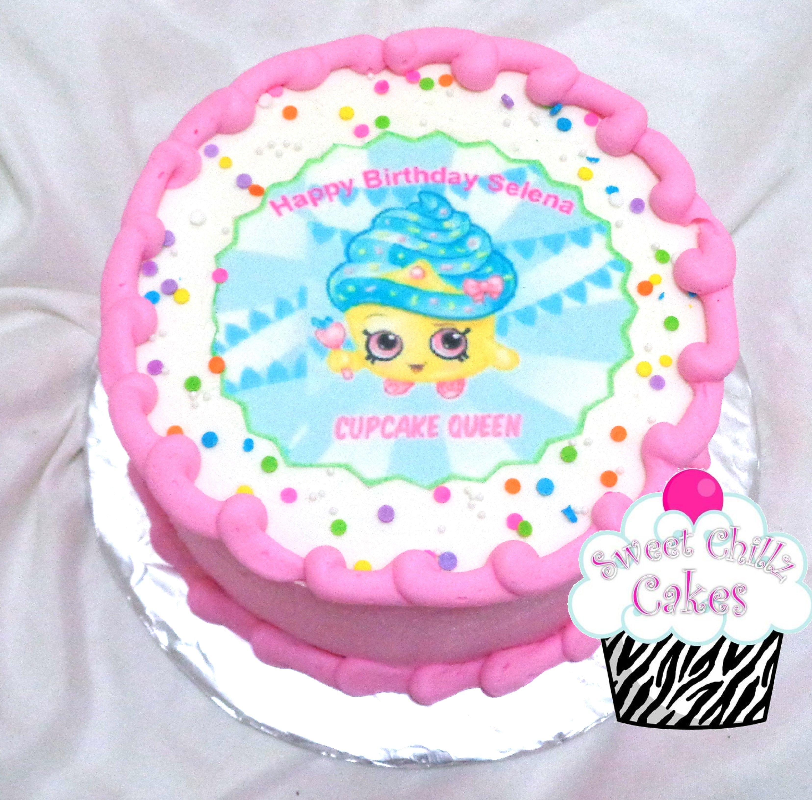 Shopkins Cupcake Queen Cake