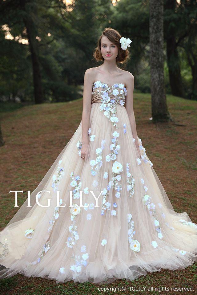 85760b135e5bc TIGLILY COLLECTION OF ELSA - TIGLILY(ティグリリィ) - ウエディングドレス、カラードレス