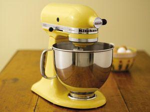 kitchenaid ksm150psmy artisan 5 quart mixer majestic yellow rh pinterest com