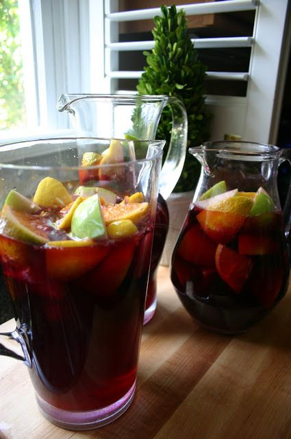 SimplySweeter: The Best Red Wine Sangria on the Planet!