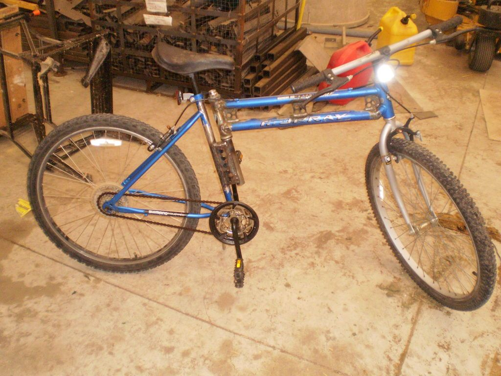 Instructables: Make a Swing Bike