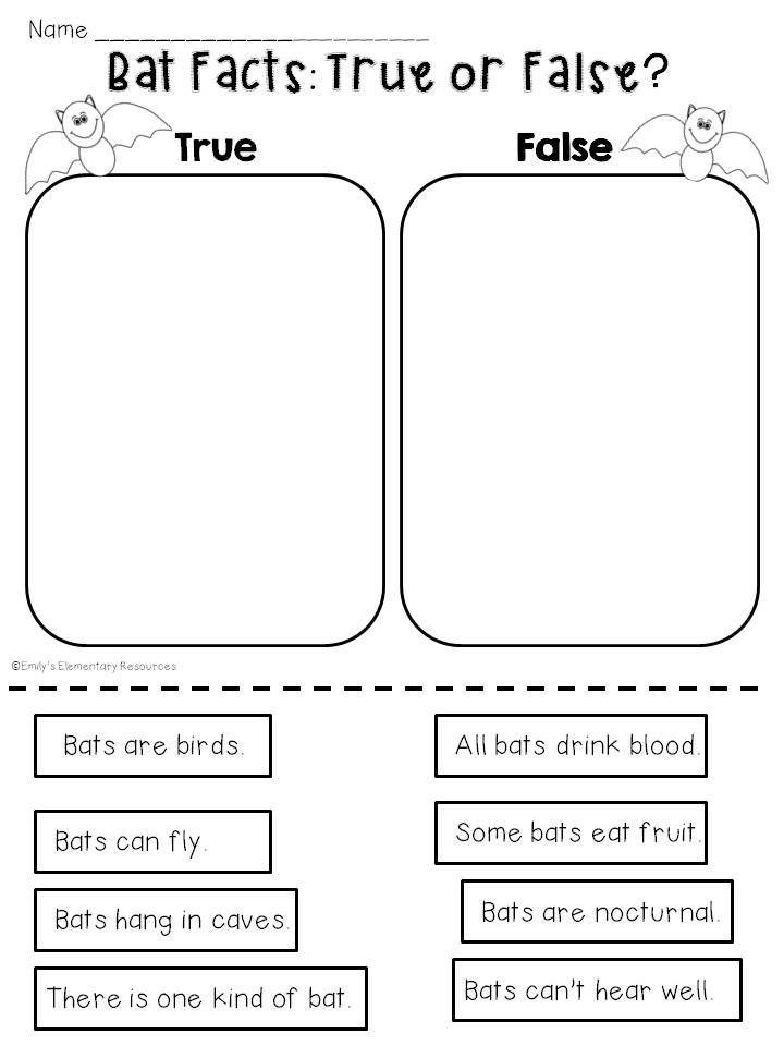 Fantastic Bats {a Mini-Unit of Activities & Printables} | Bats ...