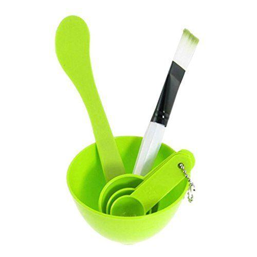 Makeup Brush  Sandistore Plastic DIY Homemade Facing Mask Brush Stick Set ** Click image for more details. (Note:Amazon affiliate link)