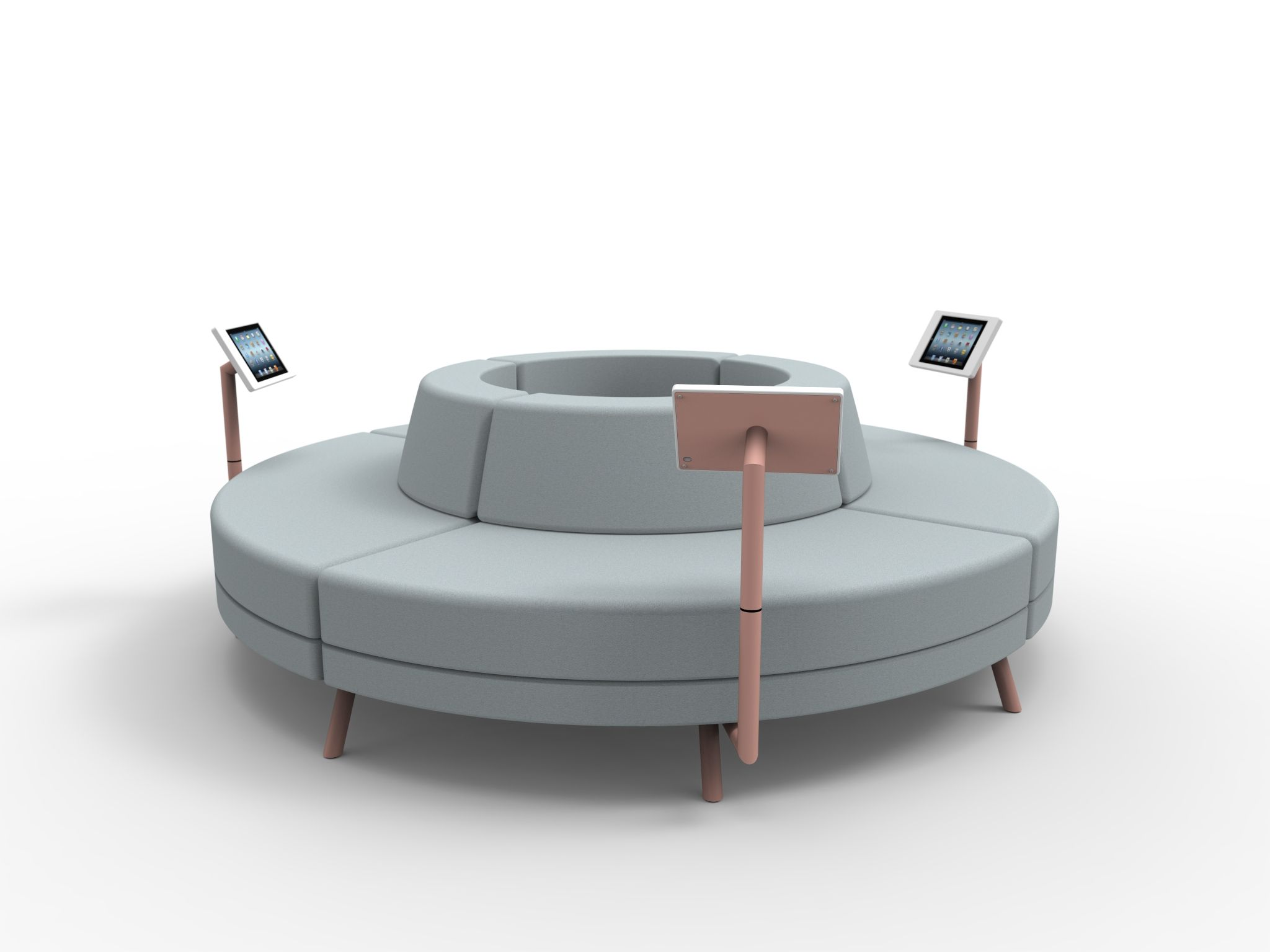 Rounded Sofa Bed Gallery Dandenong Round Couch 4 Ff Ande Pinterest
