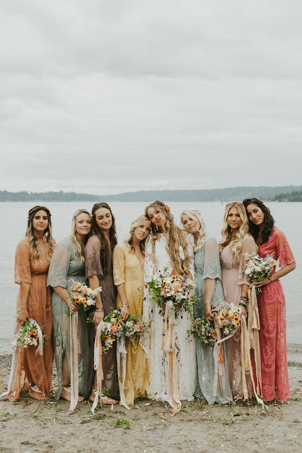 Boho Lakeside Wedding | Sammamish, Washington 2
