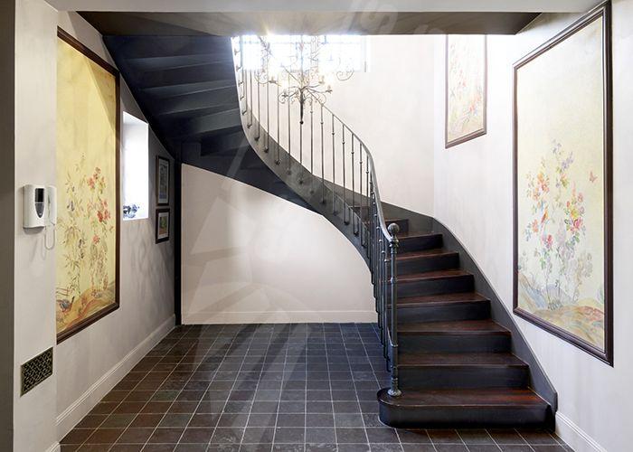 Photo Dt122 Esca Droit 2 4 Tournants Escalier D Interieur