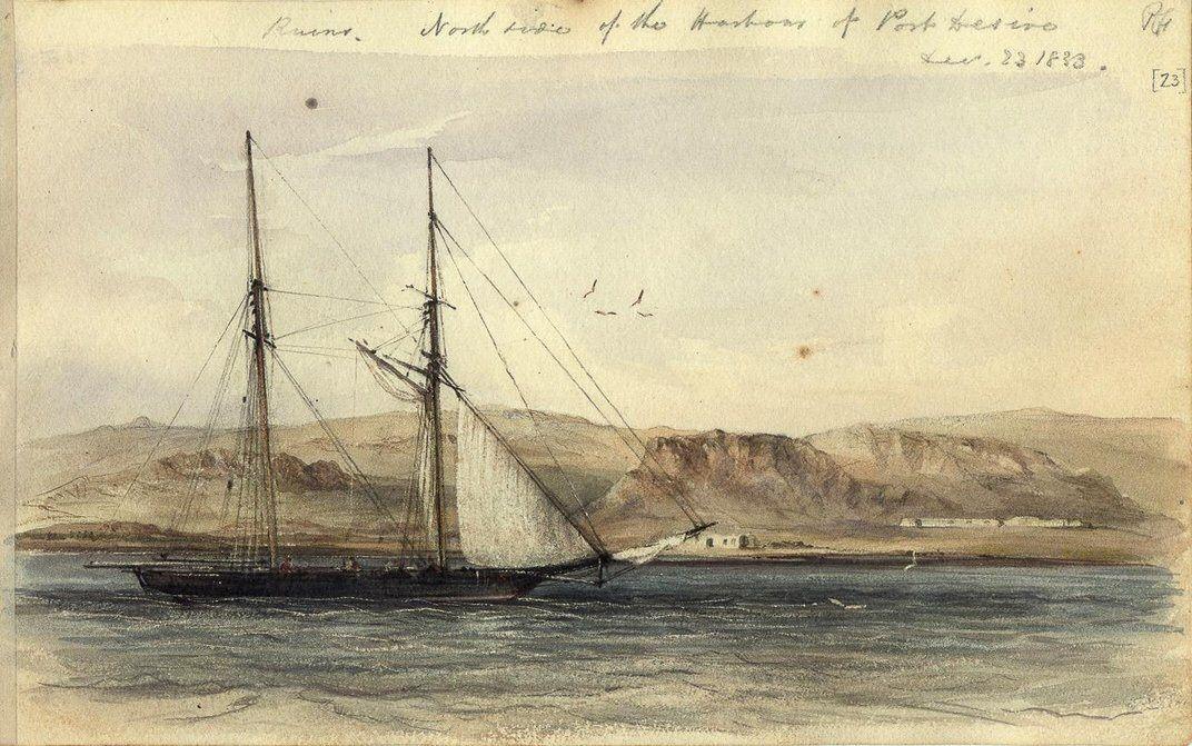 Hms Beagle Darwin S Ship Brasil