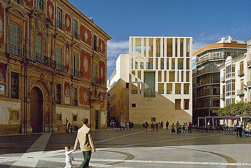 Pin De Omar Diab En Rafael Moneo Arquitectura Española Ayuntamiento De Murcia Murcia