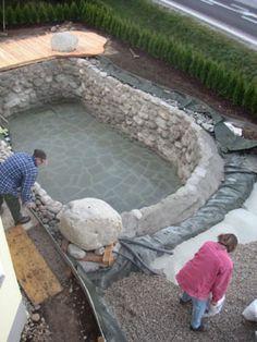 Small Natural Pool Designs heres that grotto hot tub look i want well its a bit more of grotto poolsplash poolsnatural poolsthe naturalsmall Building A New Natural Poolla Membrana Epdm Es La Impermeabilizacin Ideal Para Una Piscina