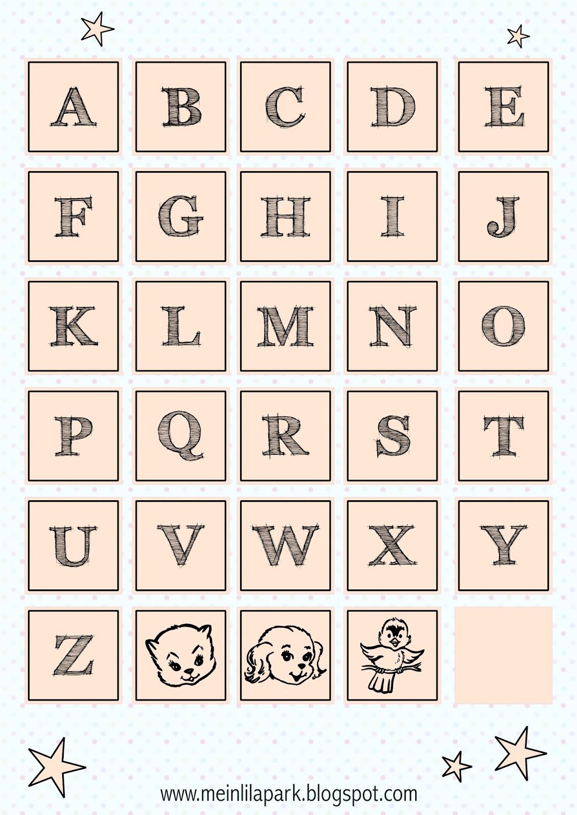 free printable alphabet letter tags free printables and more pinterest schriftarten. Black Bedroom Furniture Sets. Home Design Ideas
