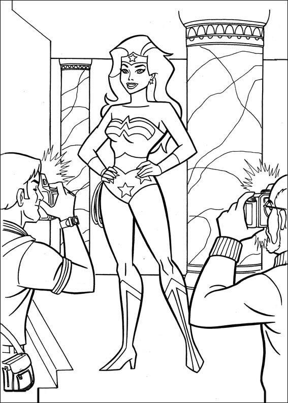 Dibujos para Colorear Wonder Woman Mujer Maravilla 52 | La Mujer ...