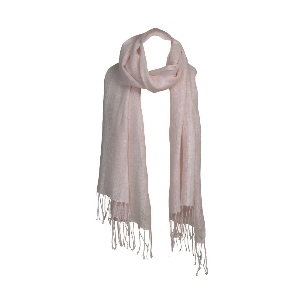 Linen wrap light pink