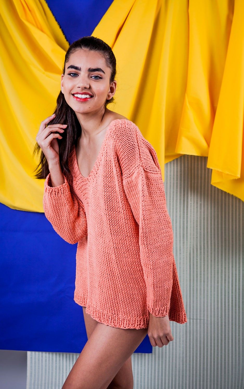 Bossa nova Sweater   Crochet fashion, Yarns and Knit crochet