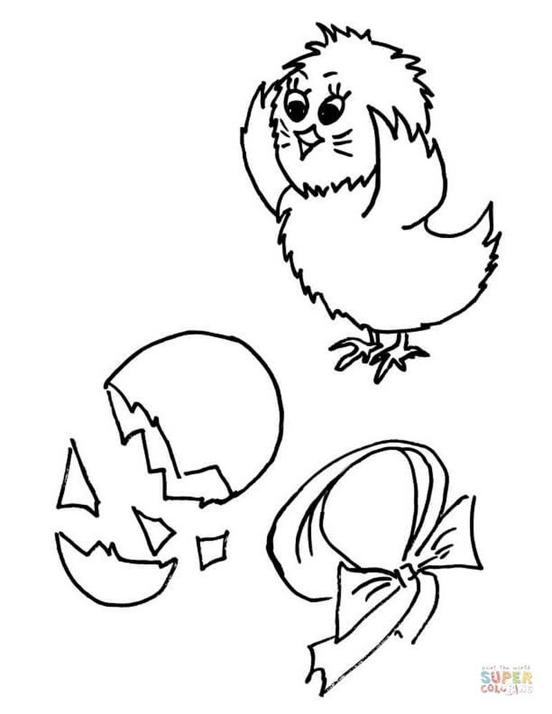 - Cute Chicken Coloring Pages For Children Kids Printable Coloring