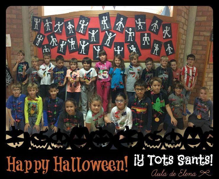 Halloween y Tots Sants en el Aula de Elena