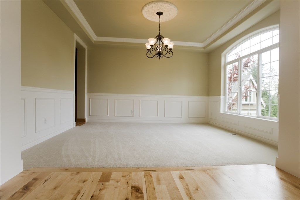 Hardwood Flooring And Carpet Transition