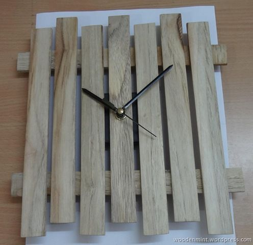 Simple Wood Clock Relatively Easy Project A Simple
