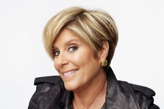 Suze orman talks about her new show and the death of the american the back of suze orman hair suze orman winobraniefo Choice Image