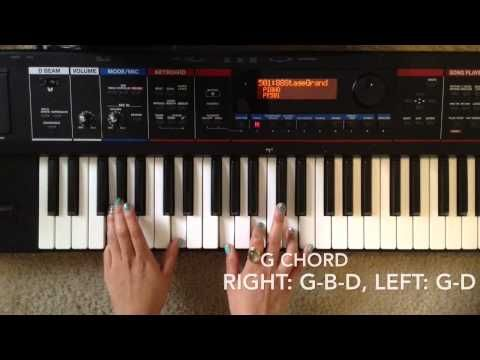 Oceans Hillsong United Piano Tutorial Youtube Piano Chords