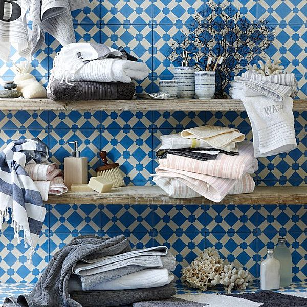 interior designs badezimmer holz regale fliesen IDEEN-BadUnten