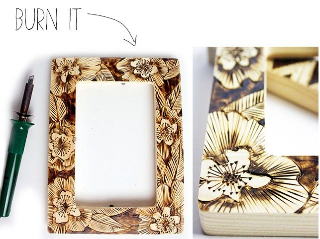 How to Make unique picture Frames | DIY,,.. cute and easy stuff to ...