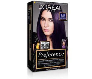 Preference 2.16 Tokio Negro Violeta Tinte Morado 7ddd7bc6fa54