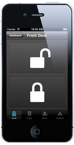 Smartphone Door Unlocking System (just Donu0027t Forget To Charge Your Phone)!