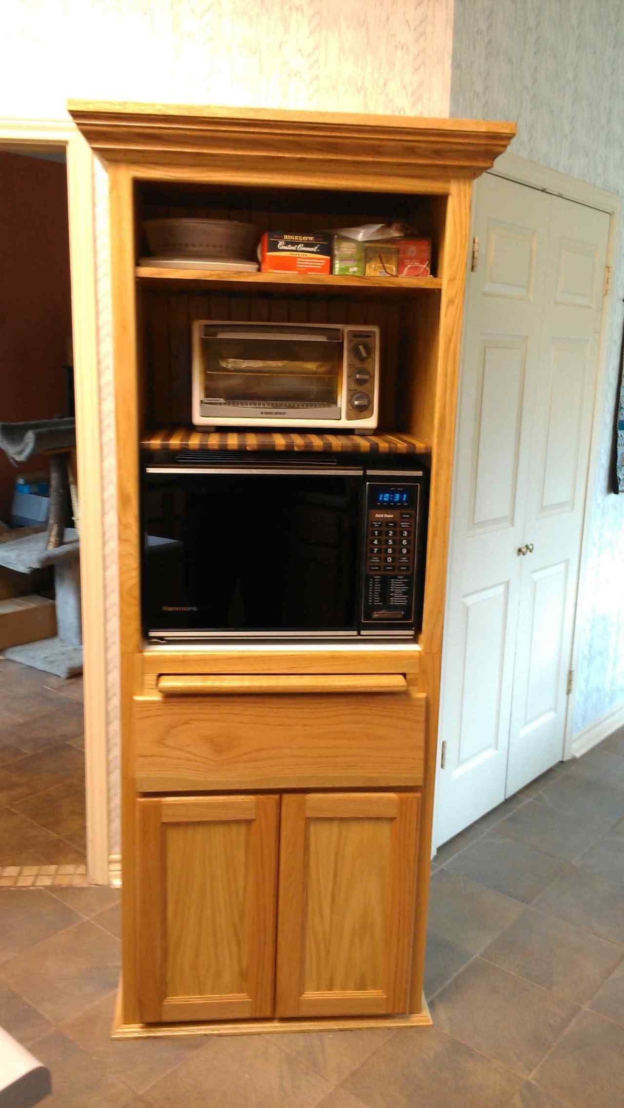 Built In Microwave Cabinet Diy Awesome Diy Microwave Storage Diy Ideas Built In Microwave Cabinet Diy Cabinets Built In Microwave